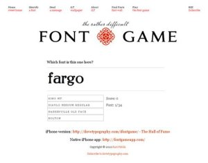 fontgame