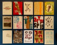 Cartazes exposição Caixa de Letras