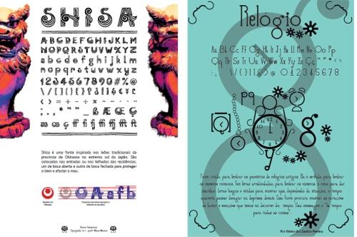 Fonte Shisa, por Breno Takamine e fonte Relógio, por Helen dos Santos Pereira